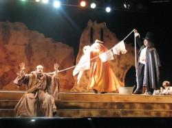 con Fabio Dulzetto Teatro Metropolitan Catania- La barunissa di carini