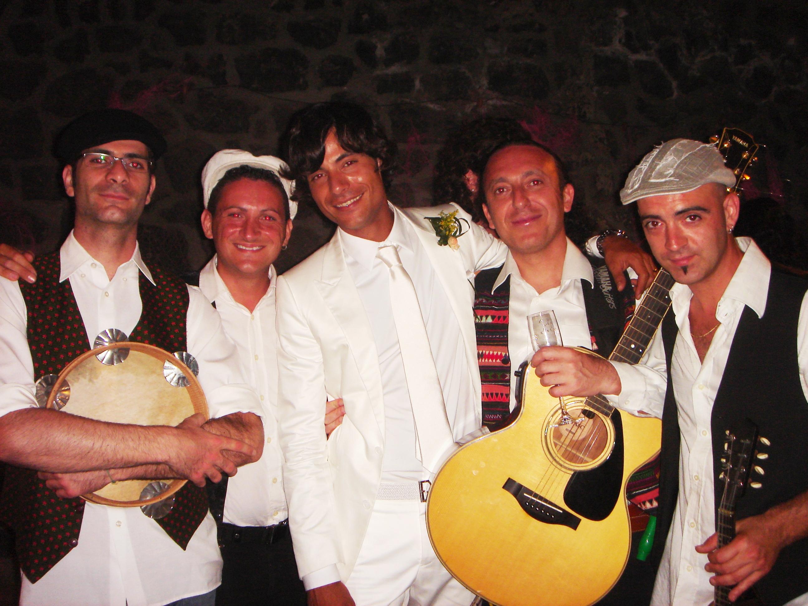 Stromboli - Matrimonio di Luciano Migliori e Giorgia Faro - con lo sposo