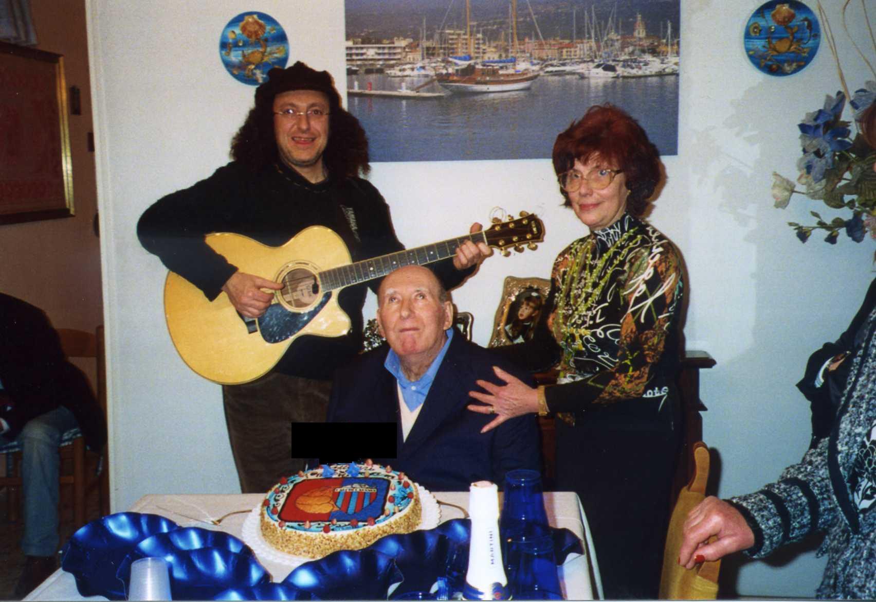 compleanno di Mario Consoli
