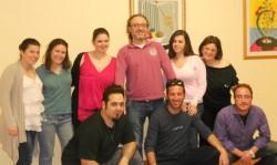 con gli allievi del corso - operatore artistico per la valorizzazione dell'identità siciliana