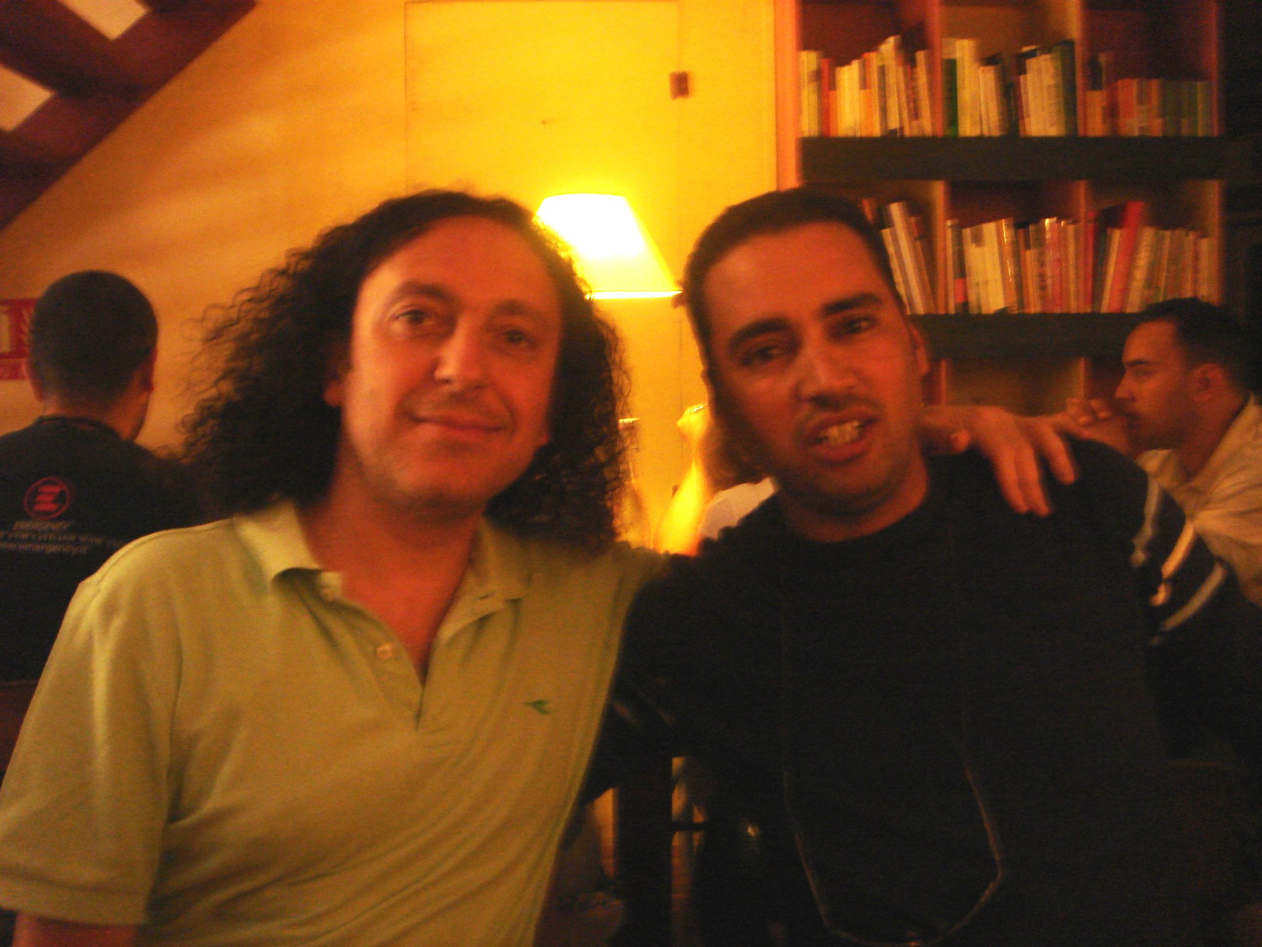 Luigi e Abdullà cantastorie marocchino