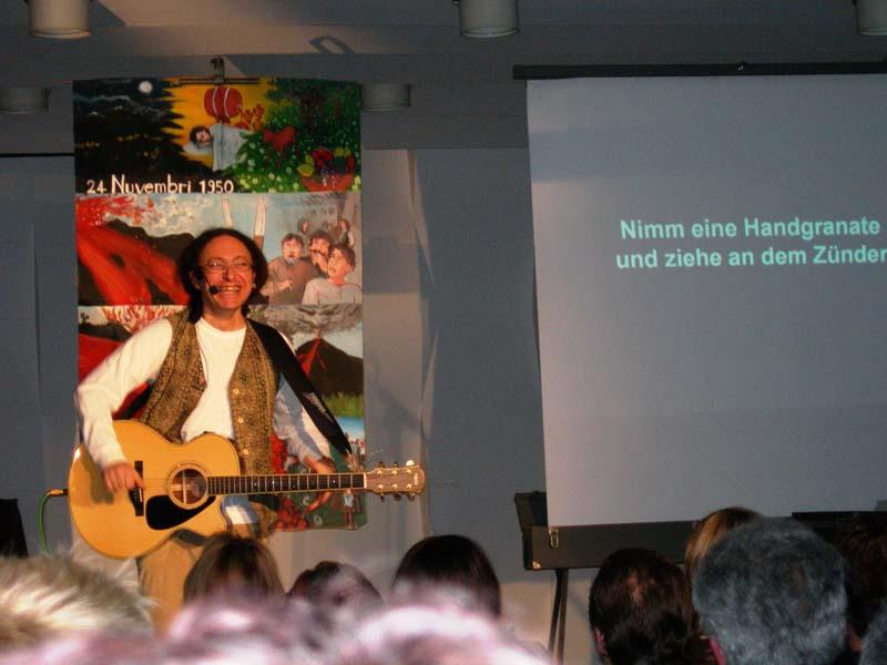 Spettacolo tradotto in tedesco