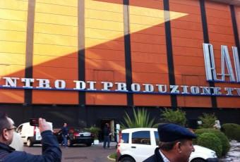 rai centro di produzione - via Teulada - Roma 16 nov 2011