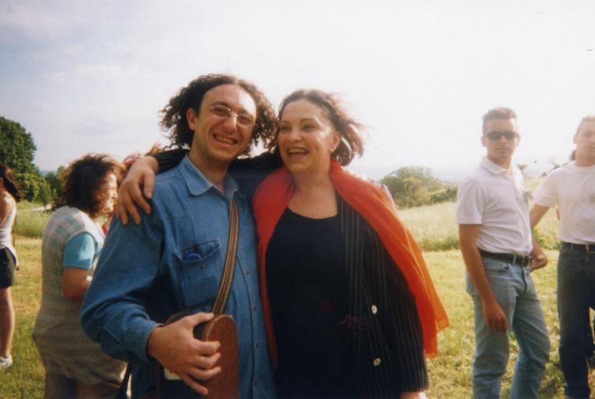 Con Marcia Teophilo candidata al Premio Nobel per la Letteratura - Carsulae - Umbria