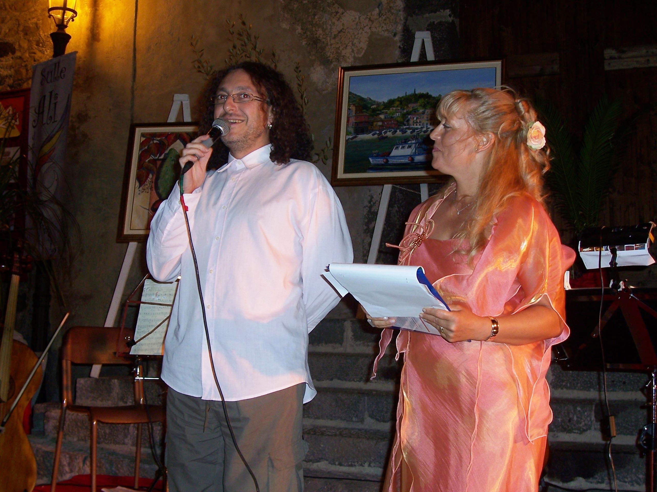 Premio Atelier delle Culture - Calatabiano 22 agosto 2006