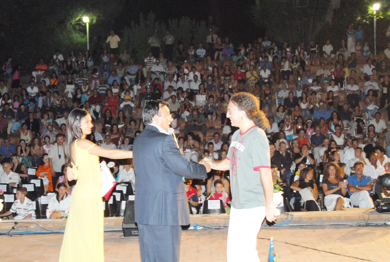 agosto 2006  con Michele e Ylenia Maccarrone
