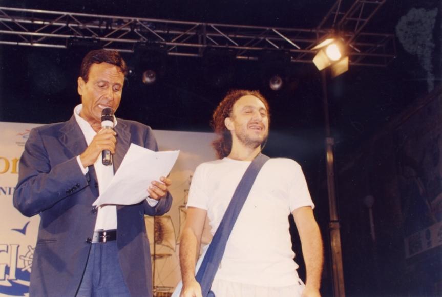 premio internazionale Capitani coraggiosi - premiato da Gigi Sabani