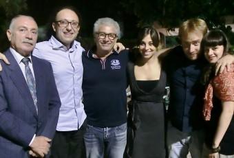 15 luglio 2012 Luigi si esibisce a Piano d'Api con Enrico Guarneri e Fabio Volo