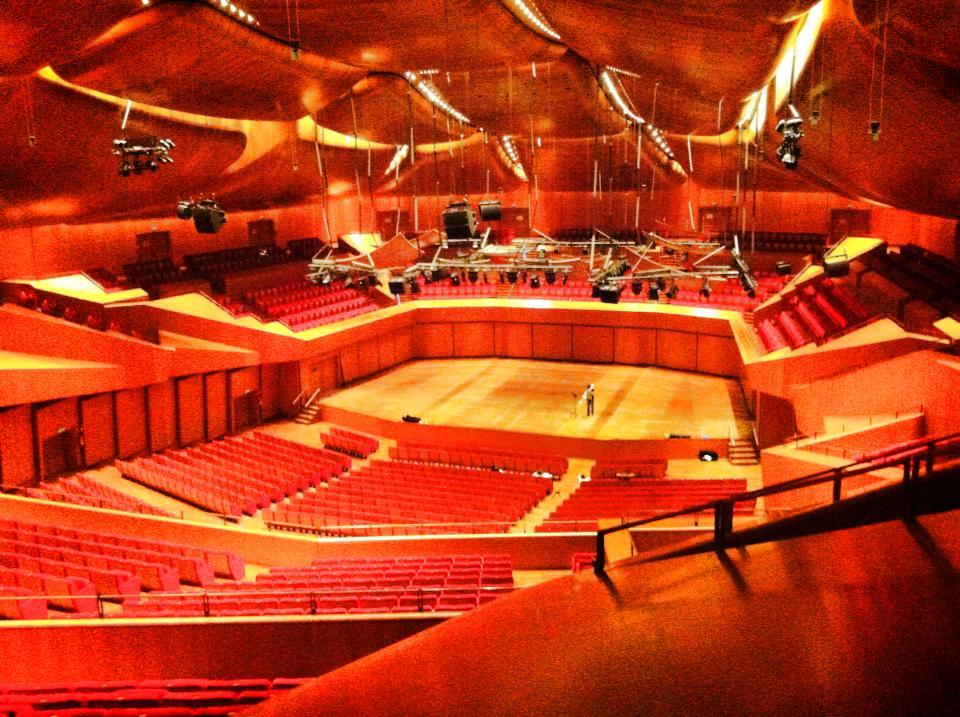 auditorium parco della musica sala santa cecilia roma