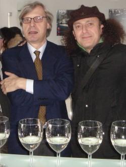 con Vittorio Sgarbi a Piazza Armerina